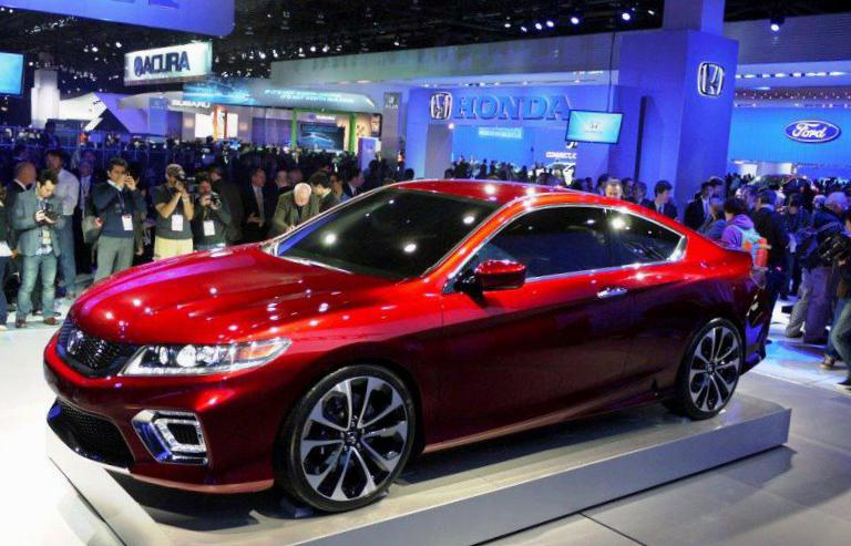 Honda Accord Plug-In Hybrid model 2014