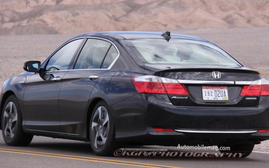 Honda Accord Hybrid usa 2008