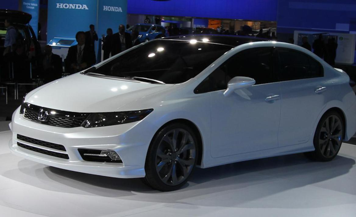 Honda Civic Si Sedan concept 2011