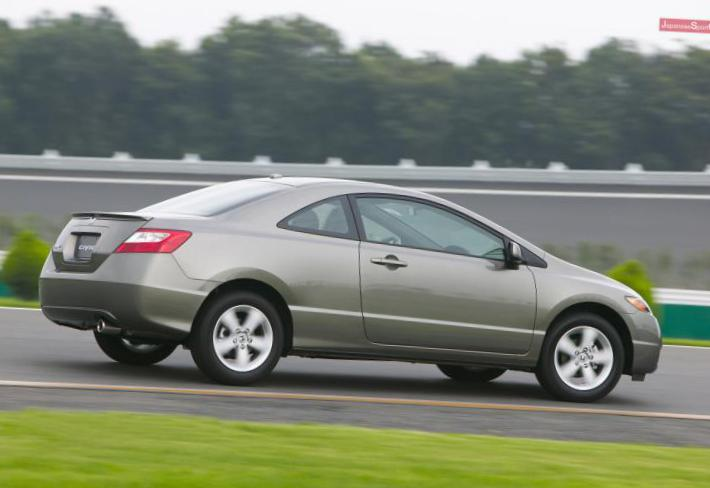 Civic Coupe Honda approved 2015