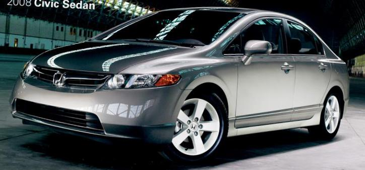 Honda Civic Sedan Specification 2015