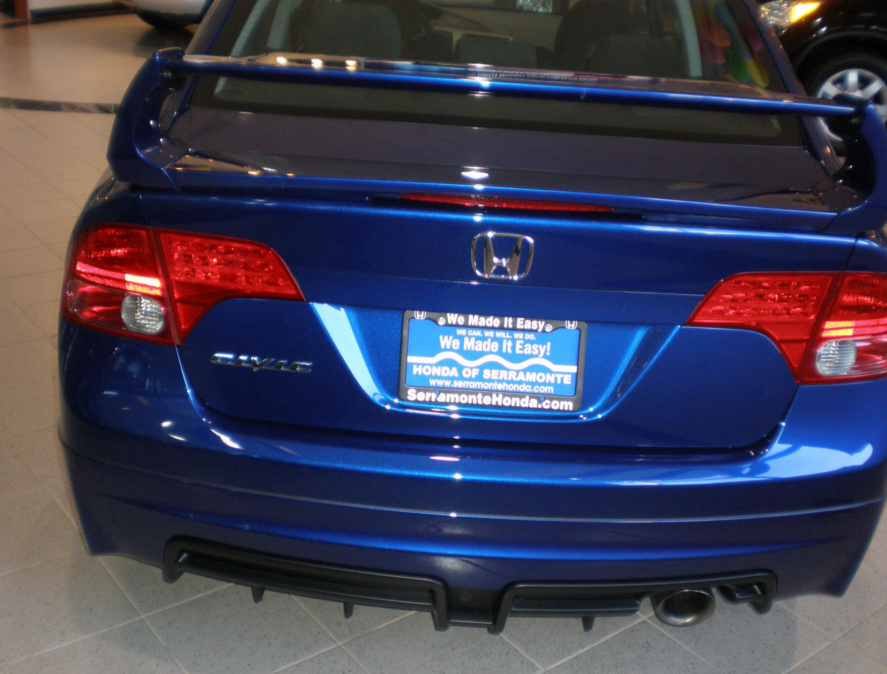 Honda Civic Si Sedan lease coupe