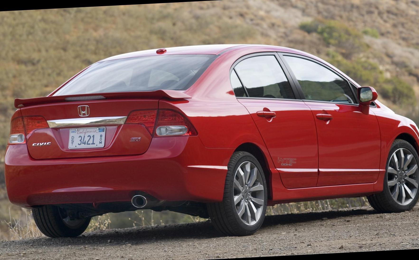 Honda Civic Si Sedan Sale 2008