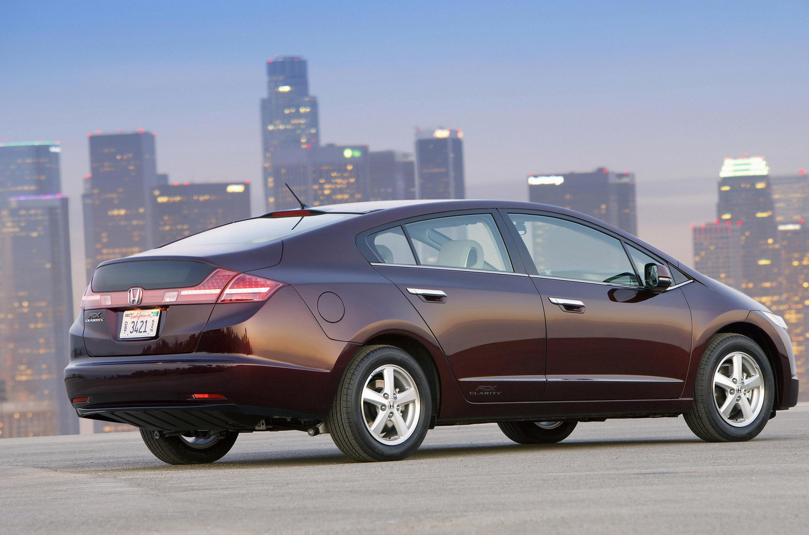 Honda FCX Clarity cost hatchback