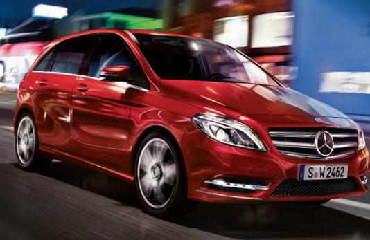 B-Class (W246) Mercedes Specifications 2015