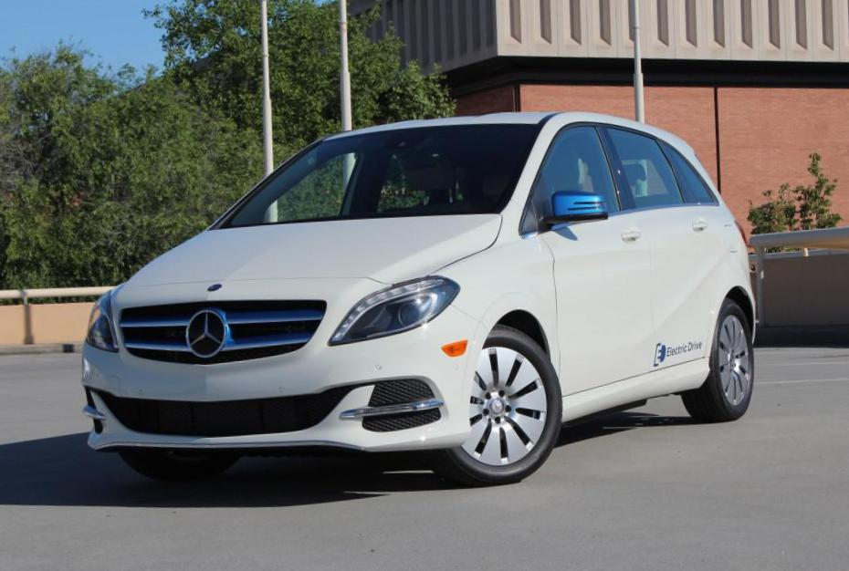 B-Class Electric Drive Mercedes approved sedan