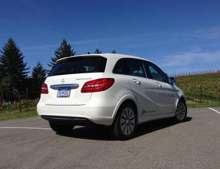Mercedes B-Class Electric Drive models 2011