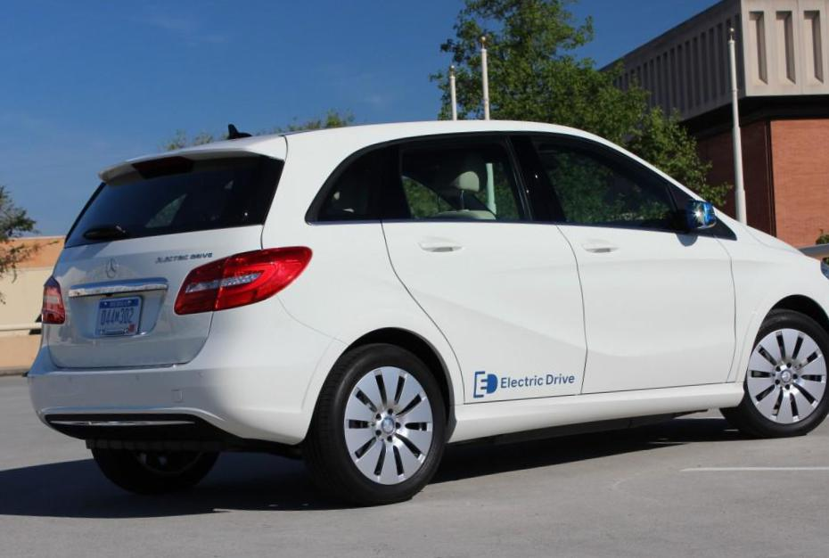 Mercedes B-Class Electric Drive Specification 2008
