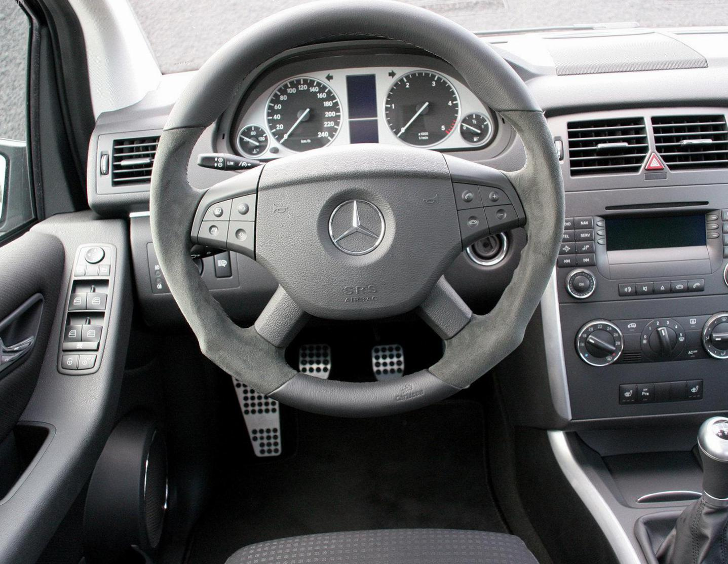 Mercedes B-Class (W245) Specifications 2005