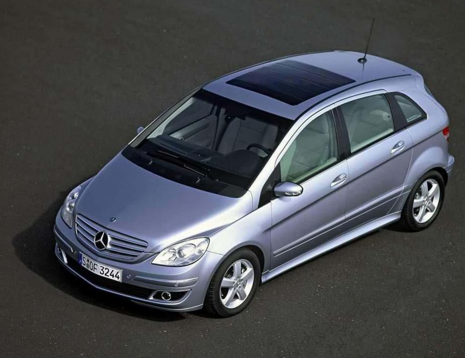 Mercedes B-Class (W245) used coupe
