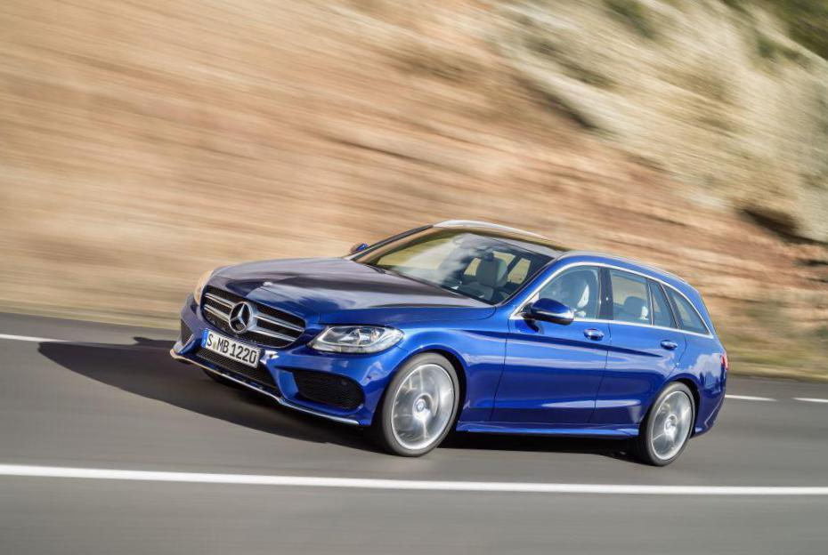 C-Class Estate (S205) Mercedes approved 2015