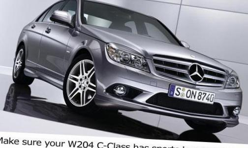 Mercedes C-Class (W204) used 2007