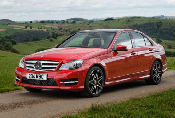 Mercedes C-Class (W204) new coupe