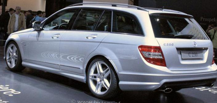 C-Class (S204) Mercedes review suv