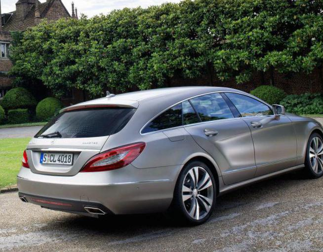 CLS Shooting Brake (X218) Mercedes usa 2009