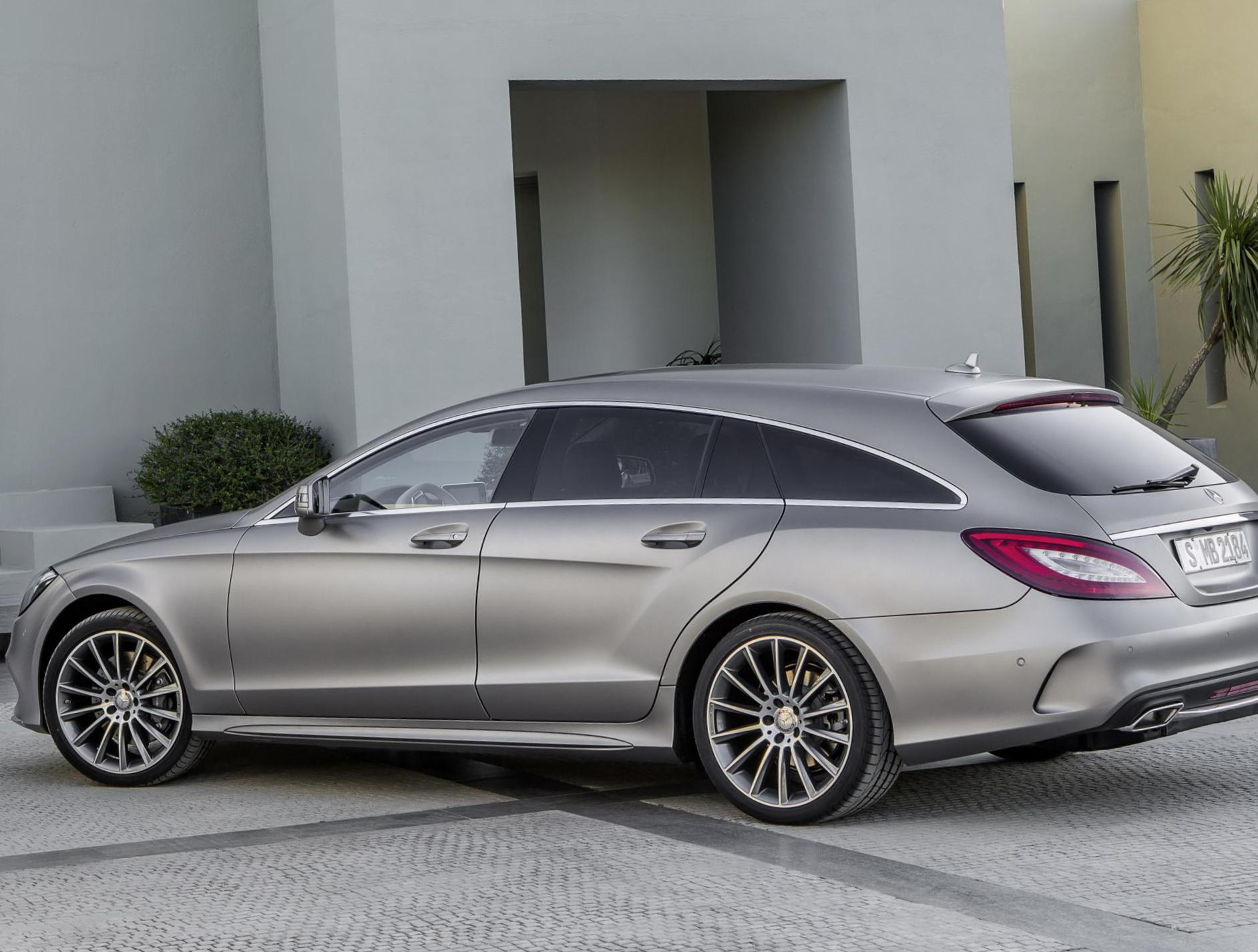 Mercedes CLS Shooting Brake (X218) configuration coupe