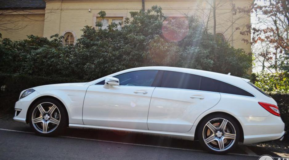 Mercedes CLS Shooting Brake (X218) how mach 2010