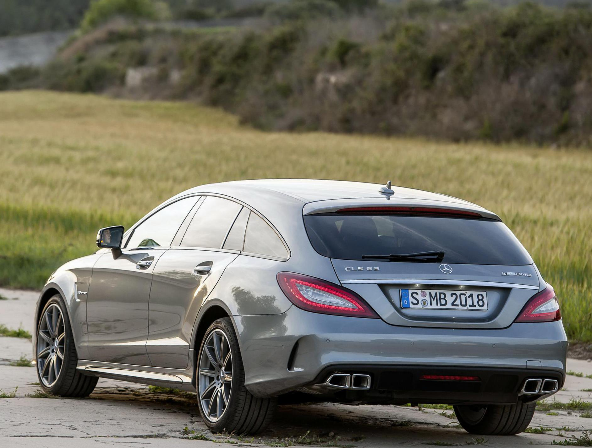 Mercedes CLS Shooting Brake (X218) model suv