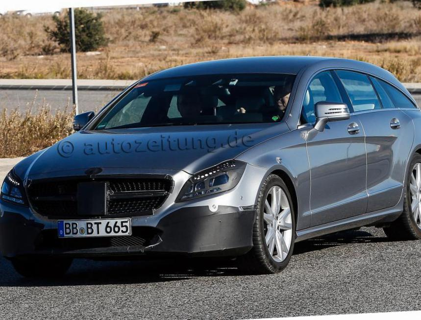 Mercedes CLS Shooting Brake (X218) spec 2011