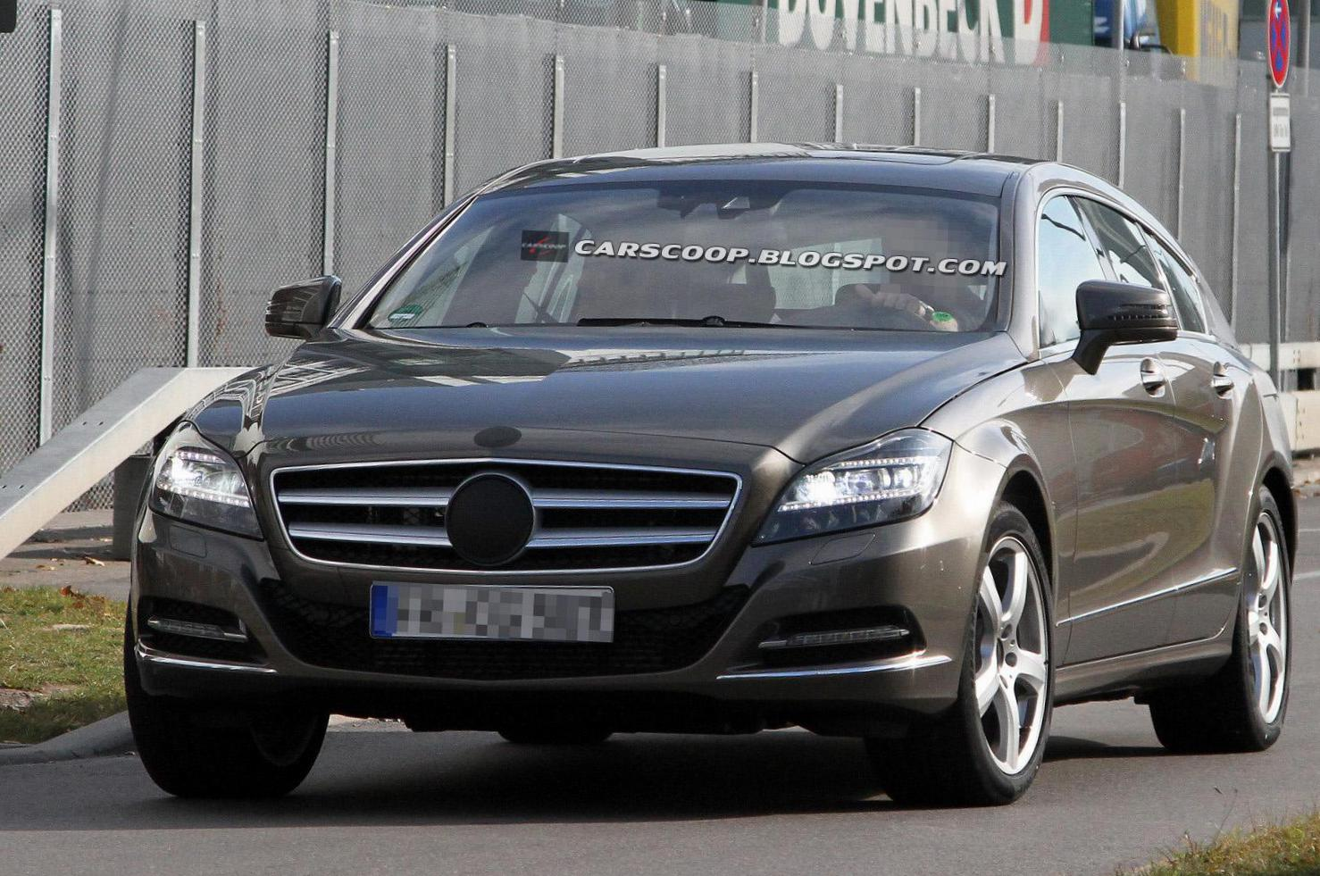 CLS Shooting Brake (X218) Mercedes review sedan