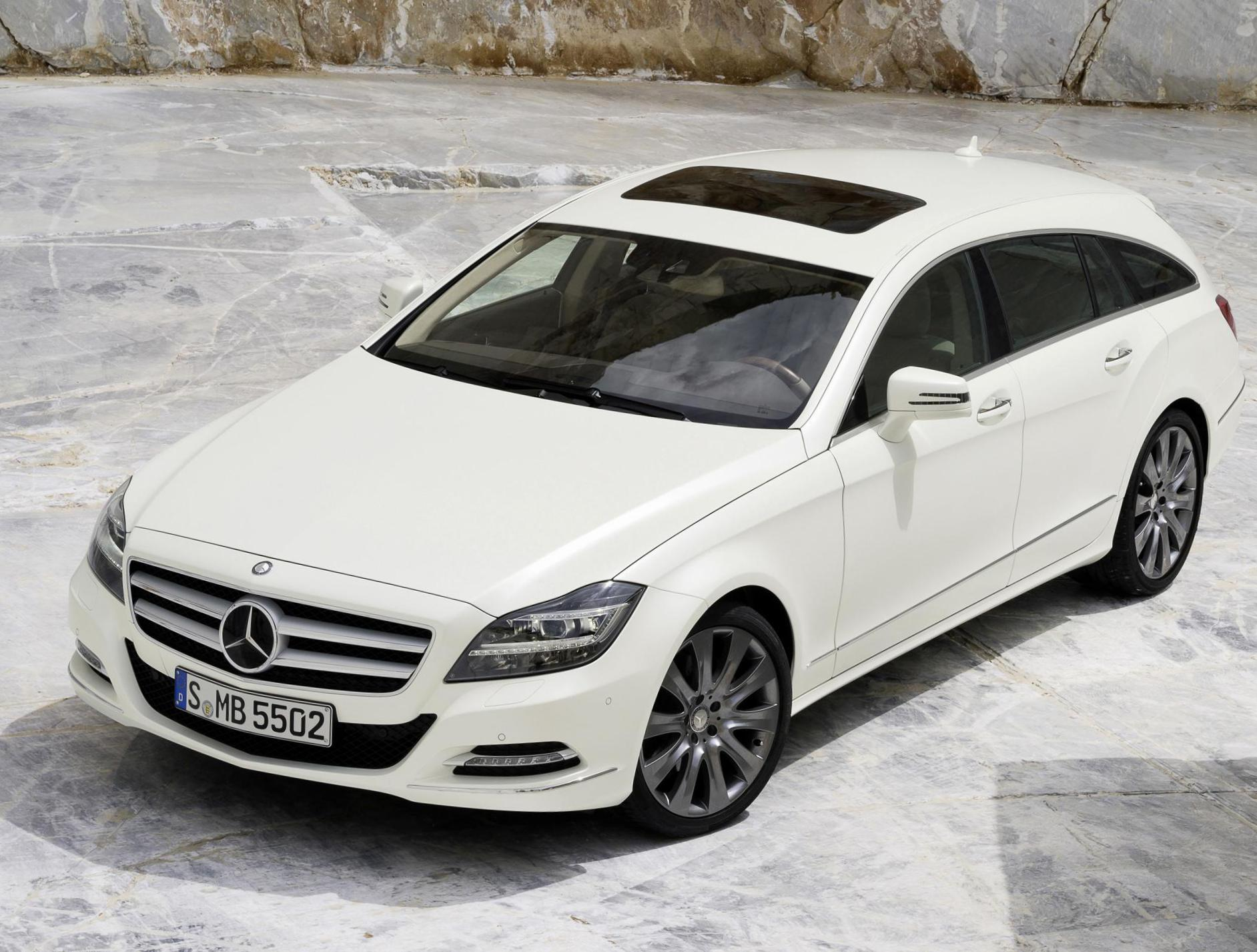 CLS Shooting Brake (X218) Mercedes Specification 2008
