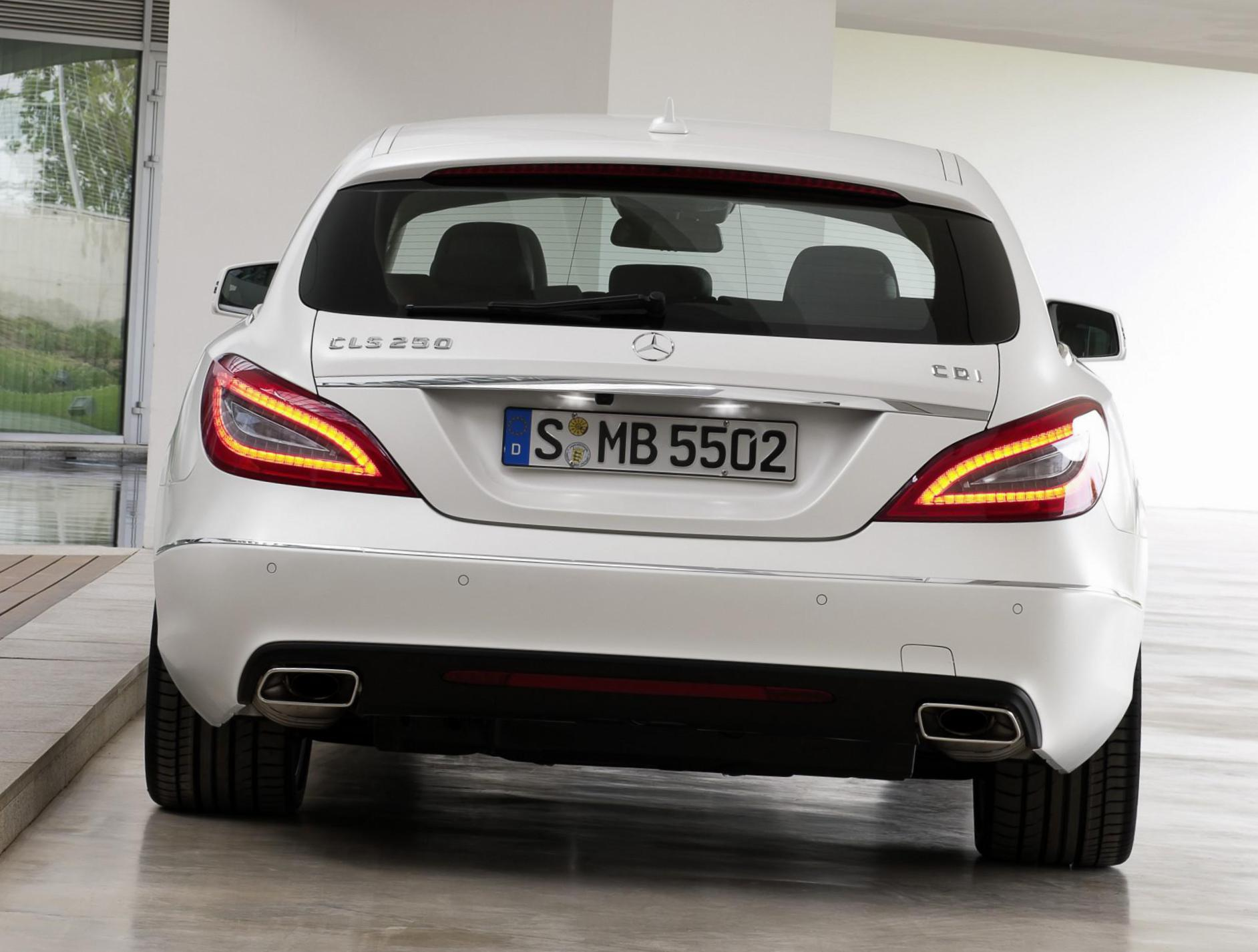 Mercedes CLS Shooting Brake (X218) cost 2007