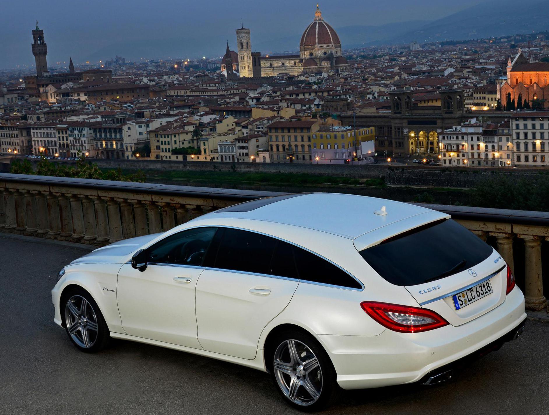 Mercedes CLS Shooting Brake (X218) new 2014