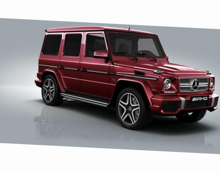 Mercedes G-Class AMG (W463) auto coupe
