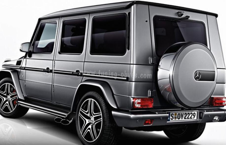 Mercedes G-Class AMG (W463) lease coupe