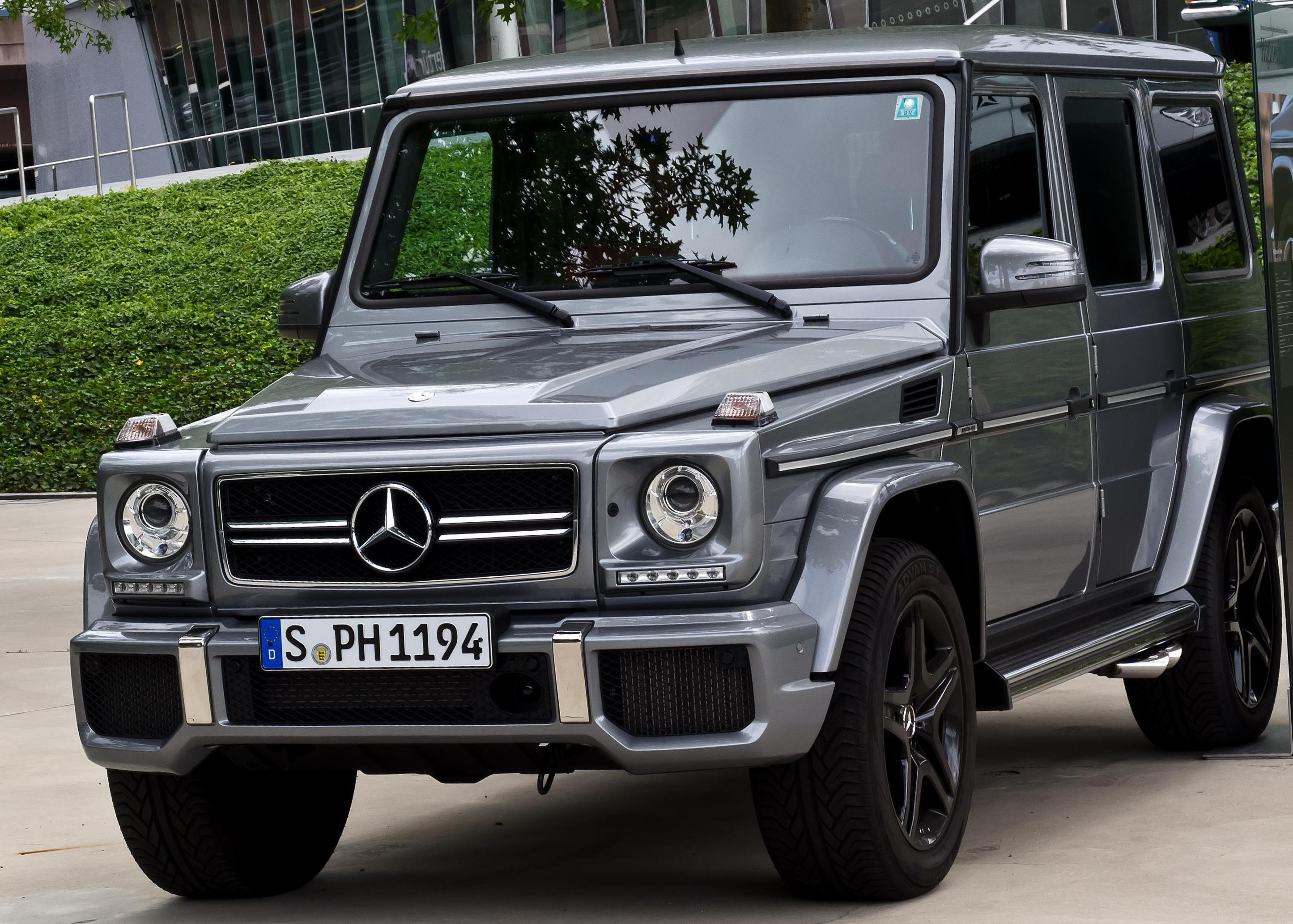 Mercedes G-Class AMG (W463) Specification cabriolet