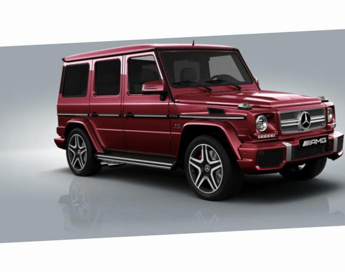 G-Class (W463) Mercedes approved sedan