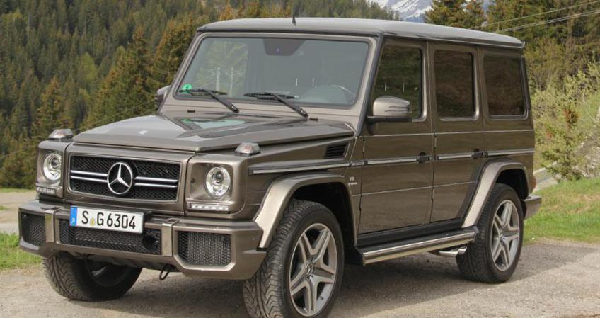 G-Class (W463) Mercedes lease coupe