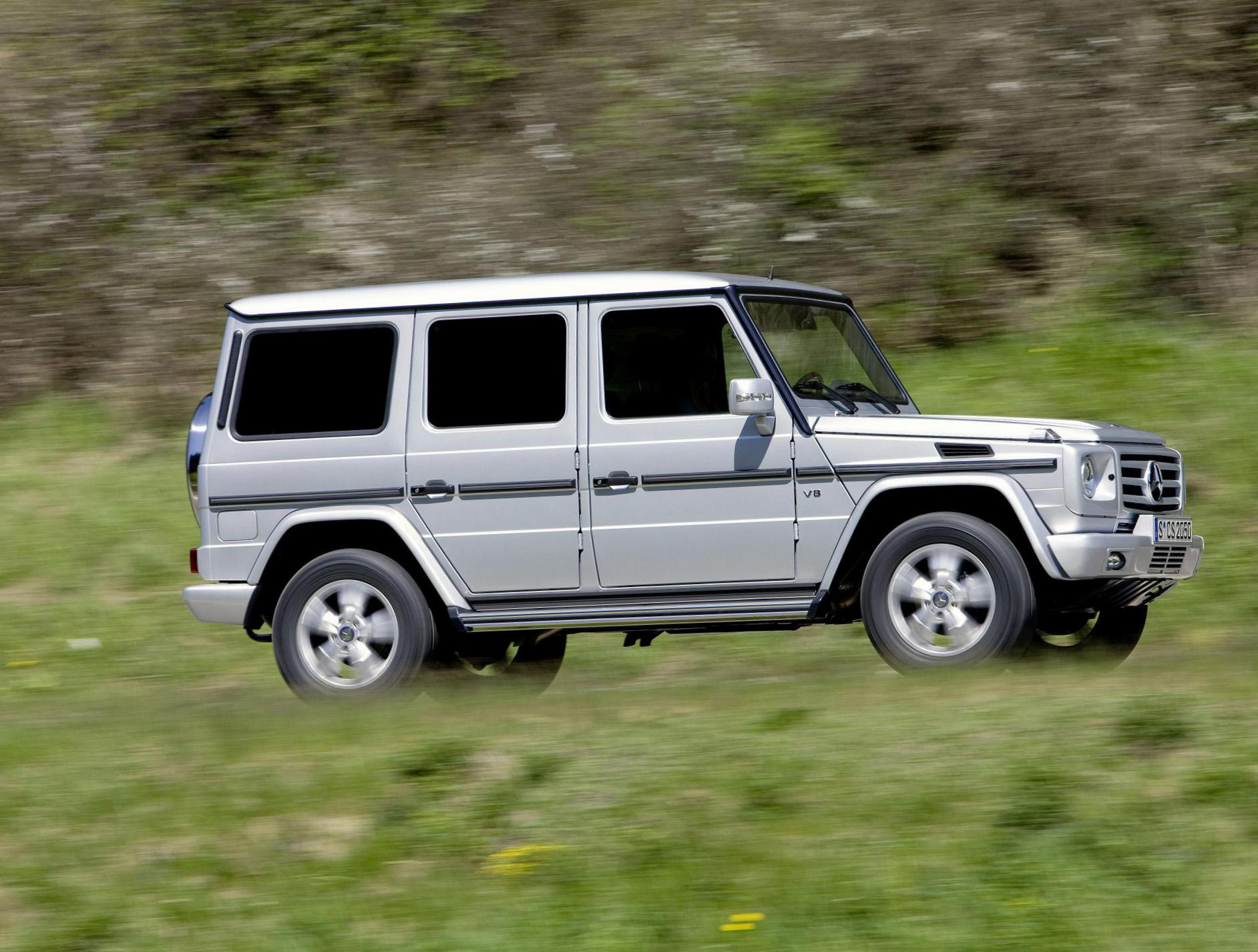 G-Class (W463) Mercedes model coupe