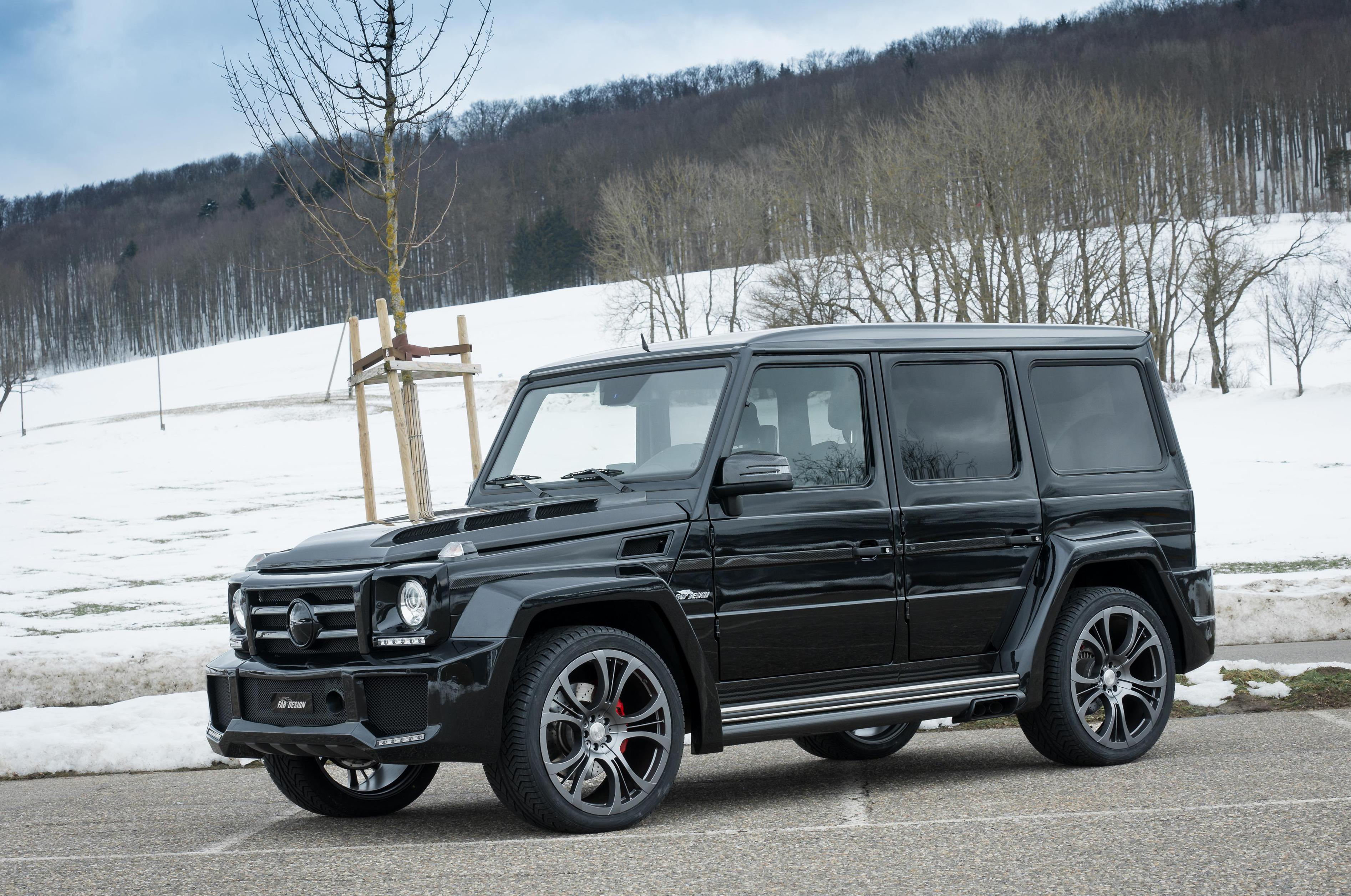 Mercedes G-Class (W463) tuning 2010