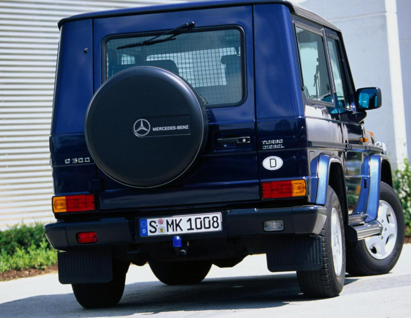 G-Class (W463) Mercedes parts wagon