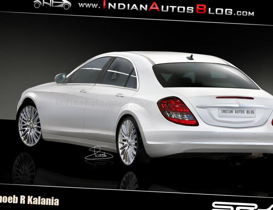 Mercedes S-Class (W222) approved 2008