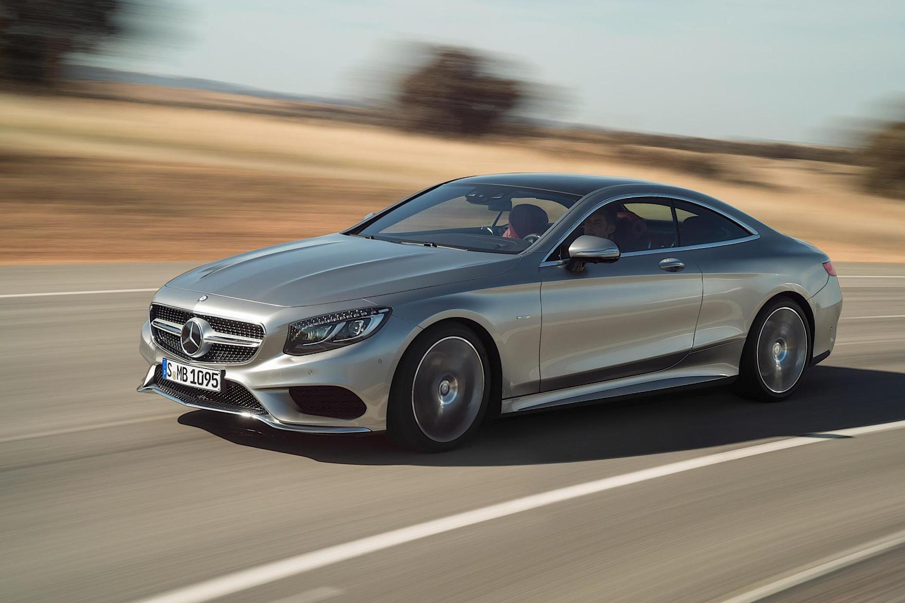 Mercedes S-Class Coupe (C217) lease 2014