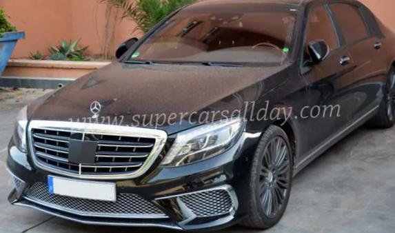 Mercedes Maybach S-Class configuration 2015