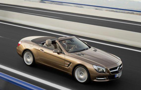 Mercedes SL-Class (R231) for sale 2012