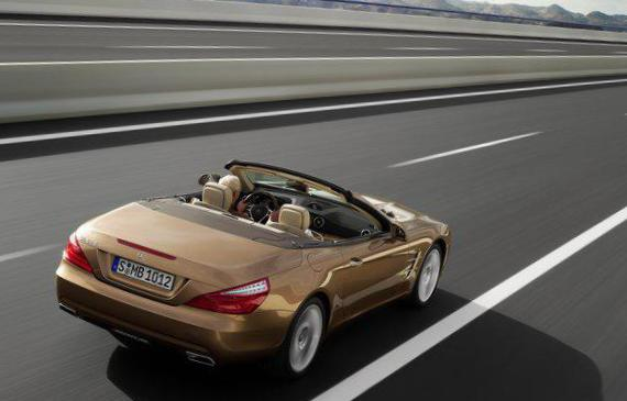 Mercedes SL-Class (R231) Specifications sedan