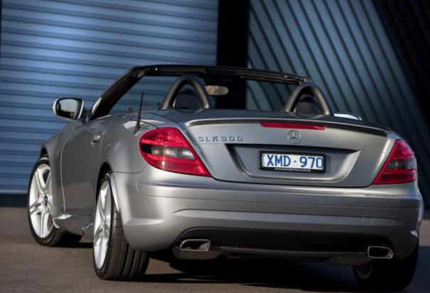Mercedes SLK-Class (R171) Specification 2010