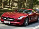 Mercedes SLS AMG Coupe (C197) model suv
