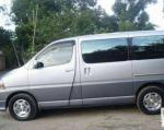 Toyota Hiace models sedan