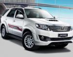 Fortuner Toyota prices suv