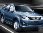 Toyota Fortuner auto show