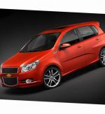 Chevrolet Aveo Hatchback 3d tuning hatchback