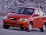 Aveo Hatchback Chevrolet review 2005