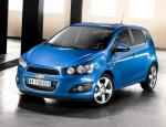 Chevrolet Aveo Hatchback configuration 2012
