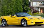 Corvette Grand Sport Convertible Chevrolet lease 2009