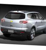 Chevrolet Traverse new suv